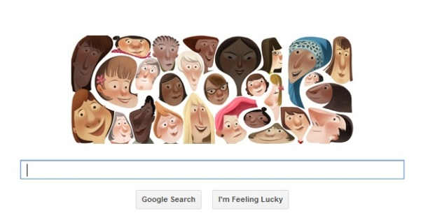 International Women's Day - Google Doodle