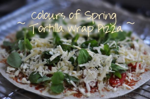 Tortilla Wrap Pizza